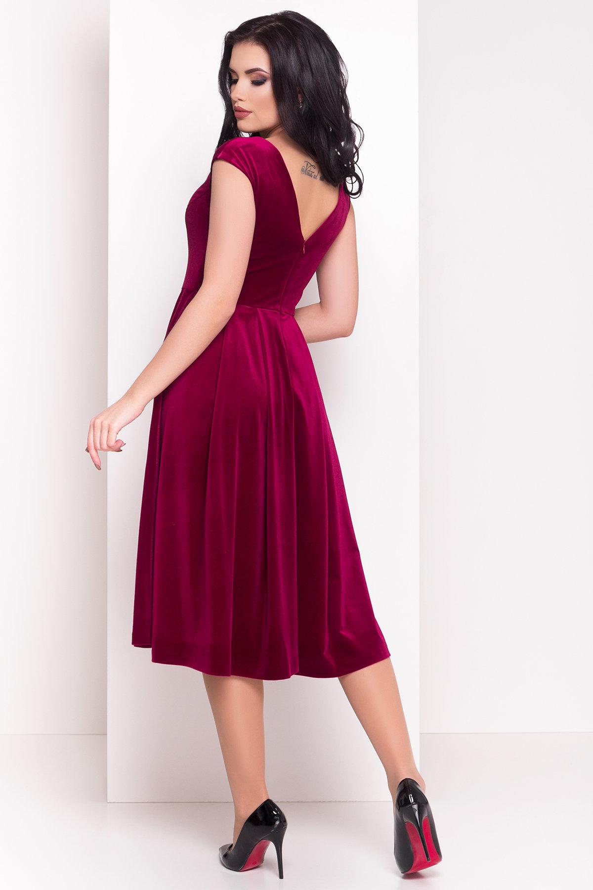 Платье Лира 4125 Цвет: Марсала