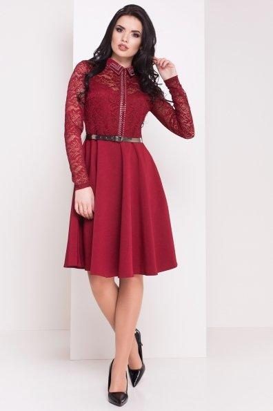 Платье Элада 4188 Цвет: Марсала