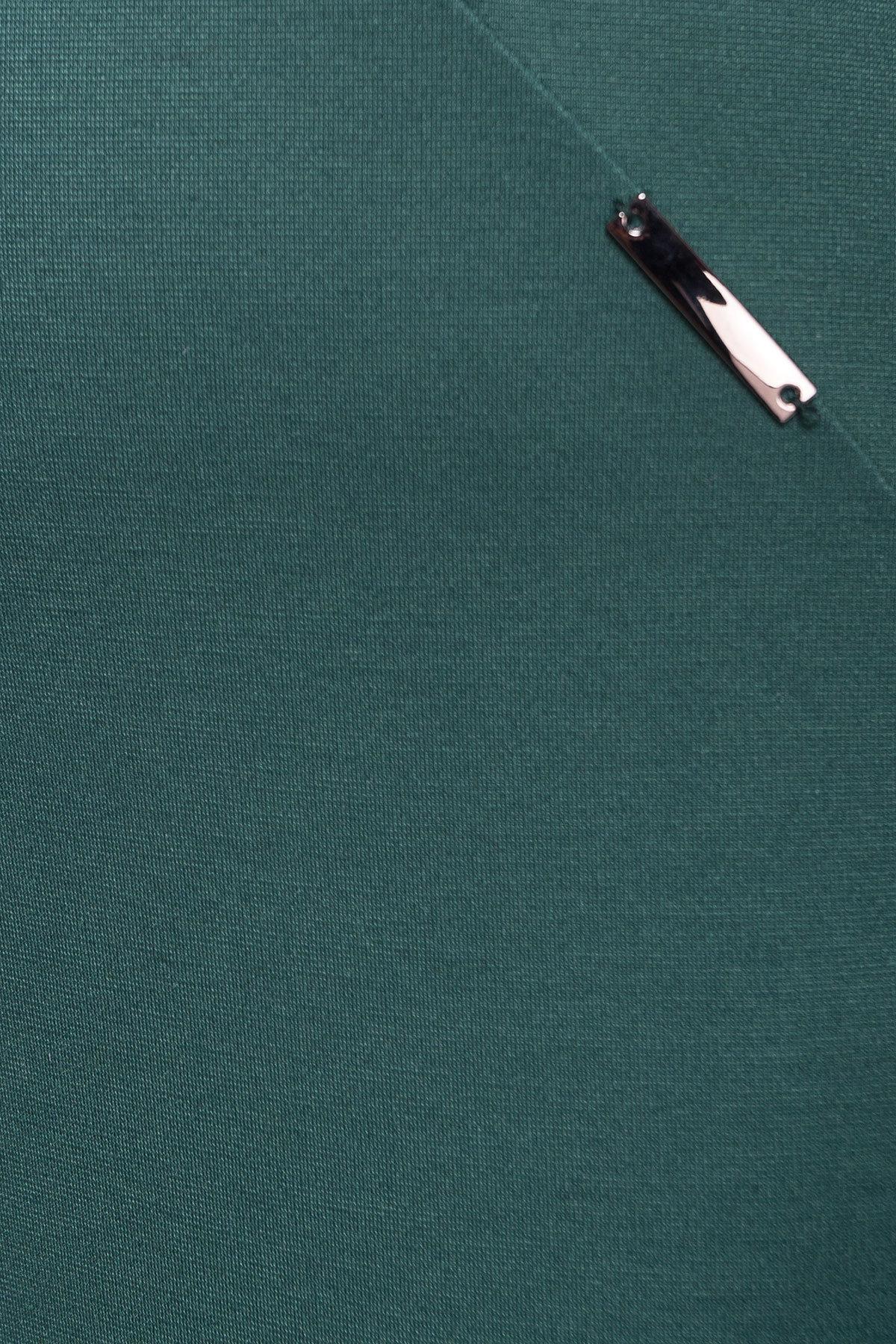 Платье Уна 503 АРТ. 7037 Цвет: Зеленый - фото 3, интернет магазин tm-modus.ru