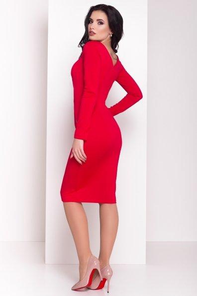 Платье Уна 503 Цвет: Красный