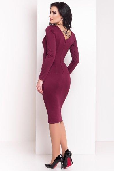 Платье Уна 503 Цвет: Бордо