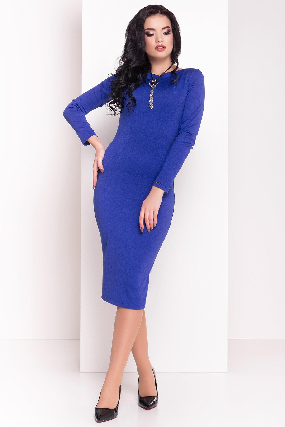 Купить женское трикотажное платье оптом Платье Уна 503