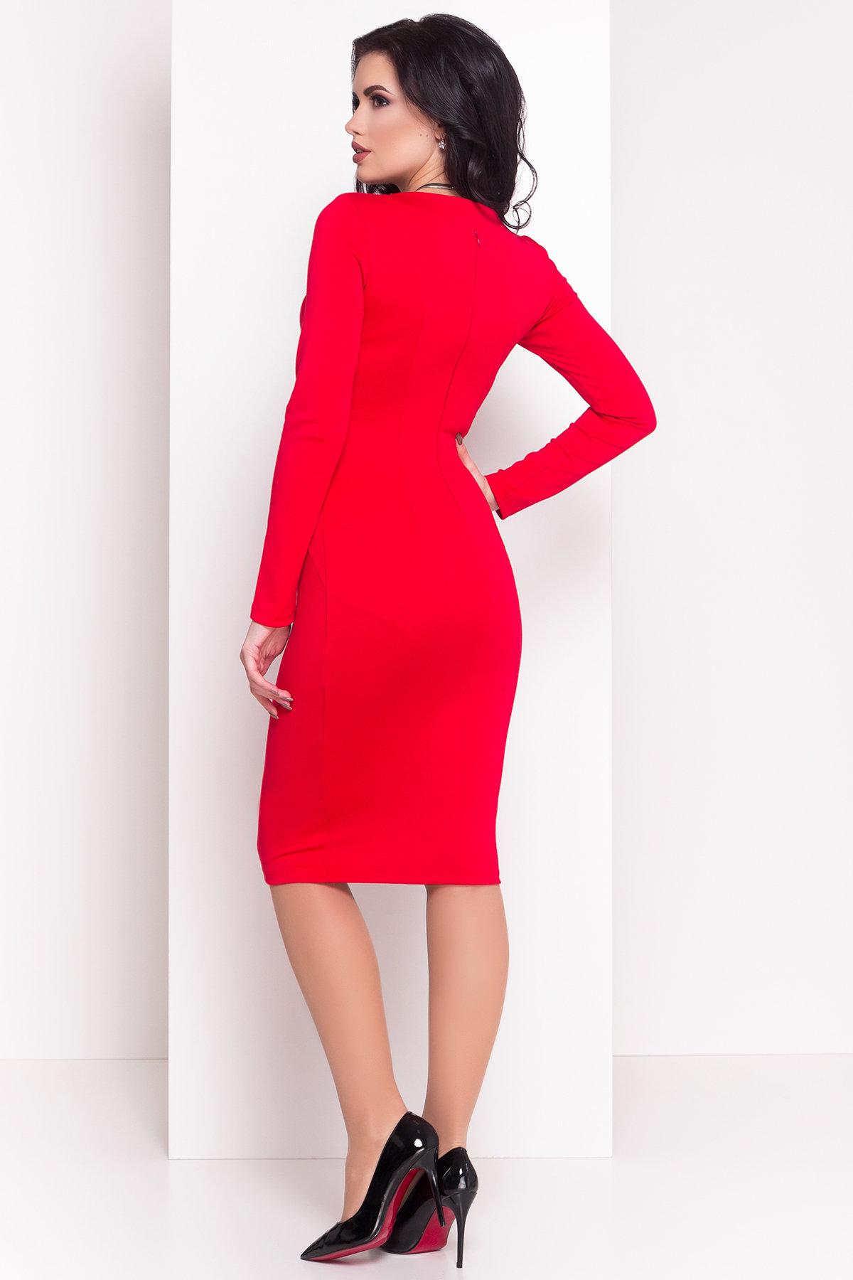 Платье Альтера 510 Цвет: Красный
