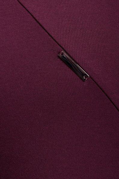 Платье с круглым вырезом Альтера 510 Цвет: Бордо