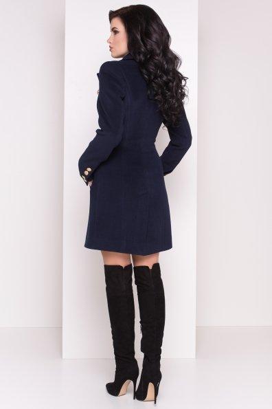 Пальто Балмен 0450 Цвет: Темно-синий
