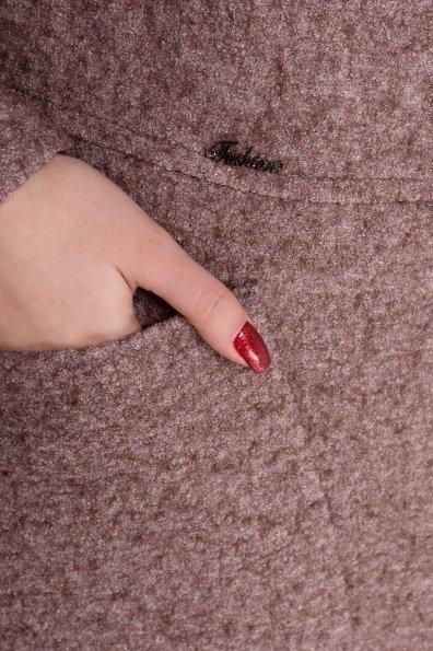 Пальто зима Габриэлла 4222 Цвет: Кофе LW-4