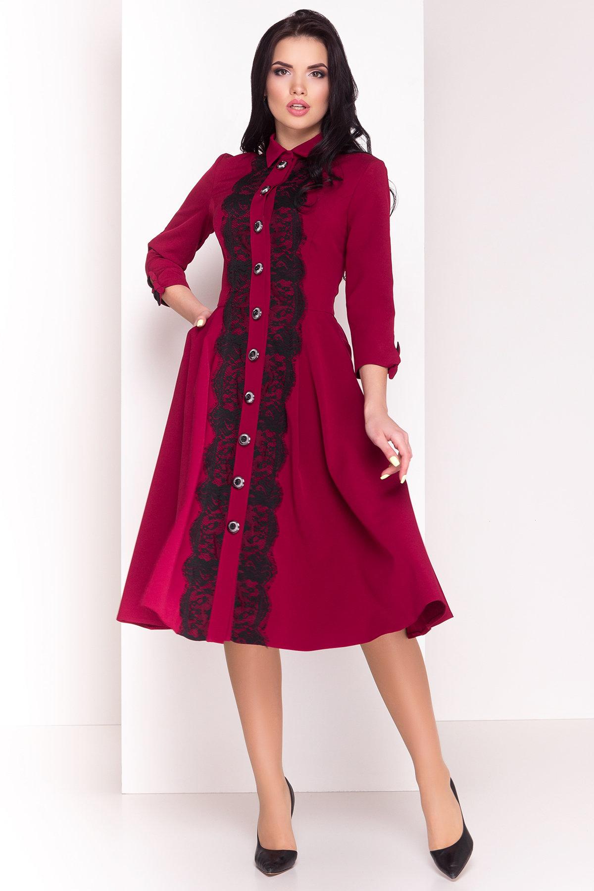 Платье Арго 4304 Цвет: Марсала