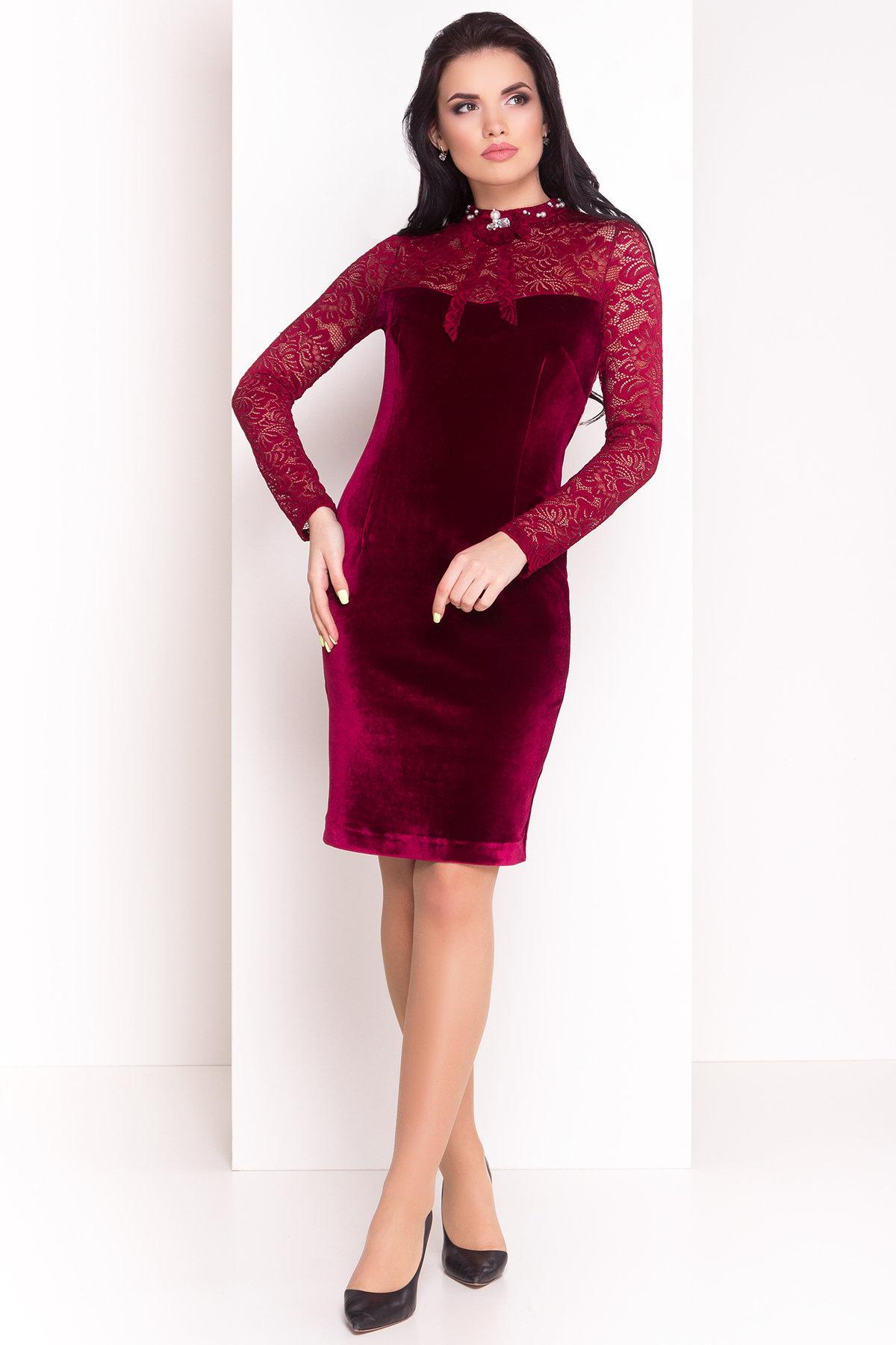 Платье Гоже 4185 Цвет: Марсала