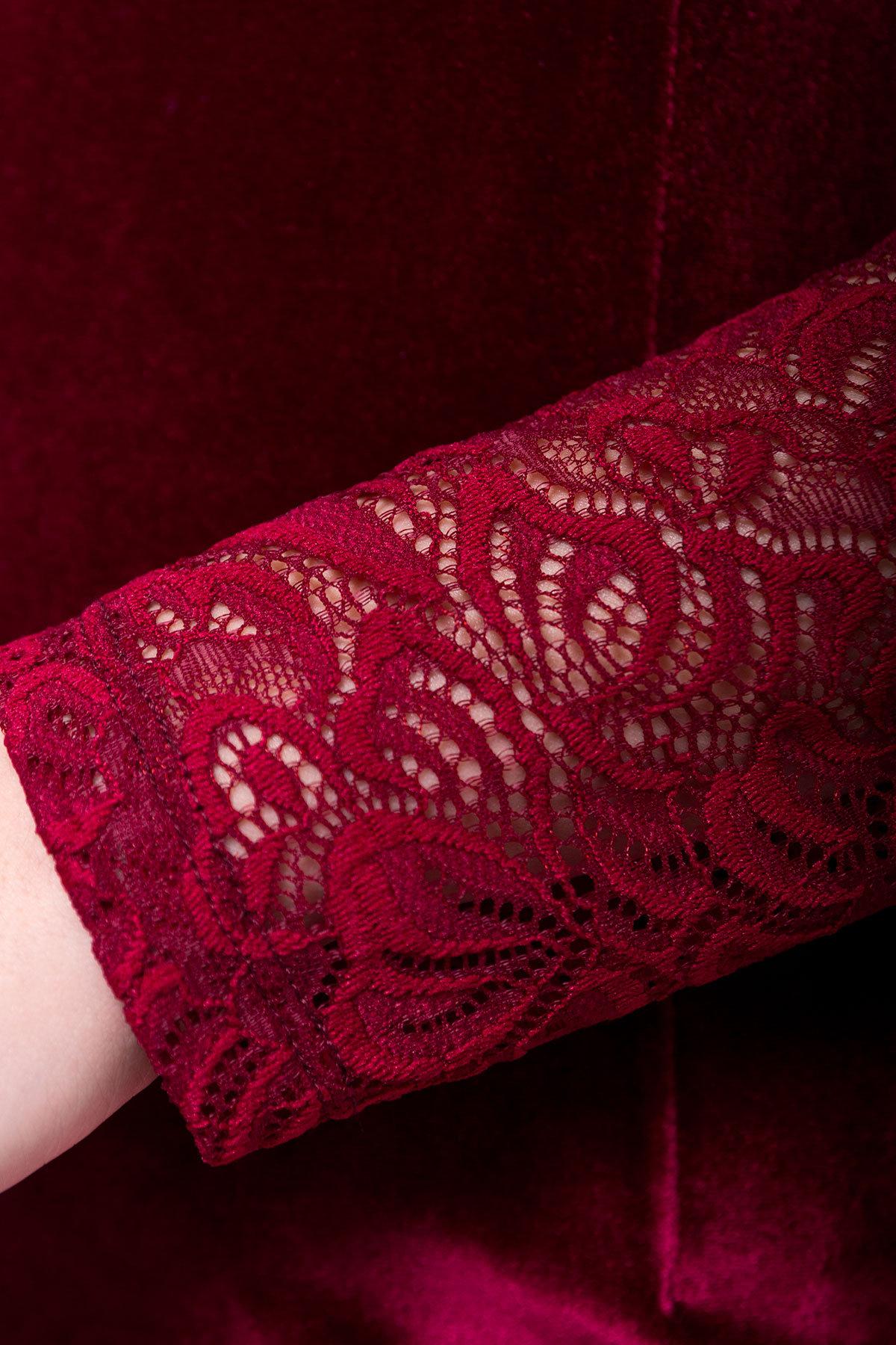 Платье Гоже 4185 АРТ. 20645 Цвет: Марсала - фото 3, интернет магазин tm-modus.ru