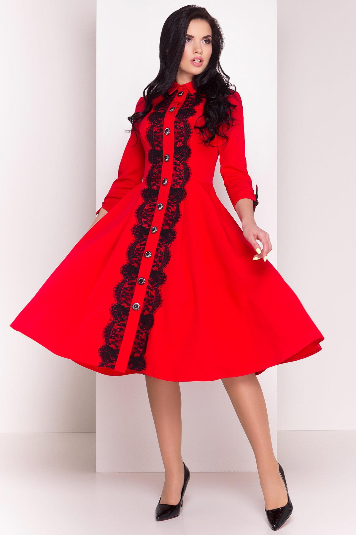 Платье Арго 4304 Цвет: Красный