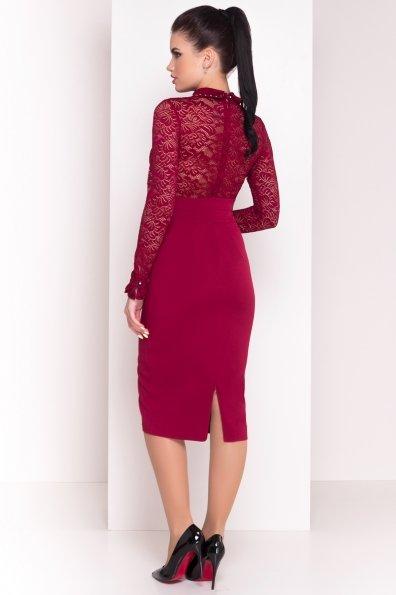 Платье Серсея 4294 Цвет: Марсала