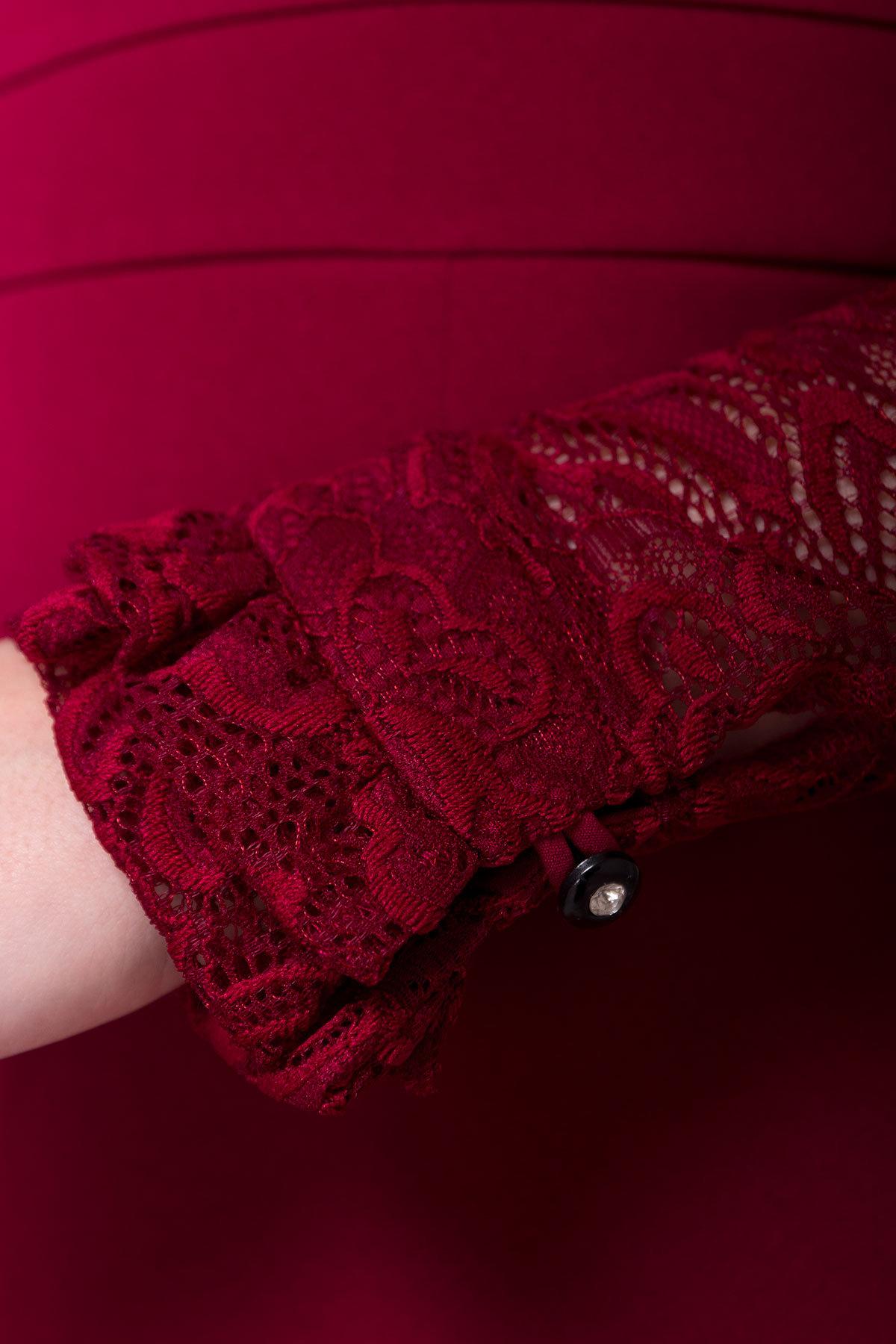 Платье Серсея 4294 АРТ. 20754 Цвет: Марсала - фото 4, интернет магазин tm-modus.ru