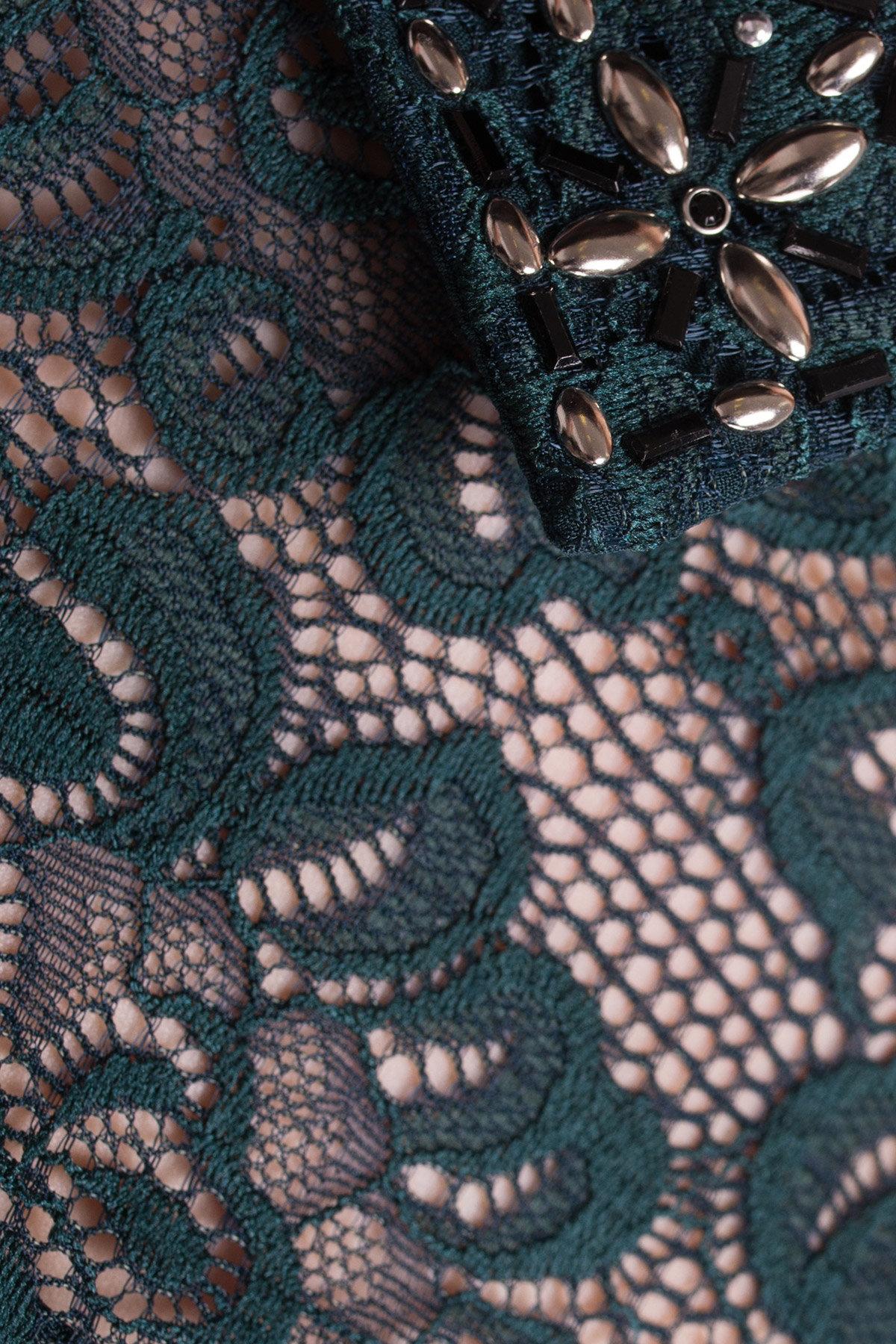 Платье Серсея 4294 АРТ. 20756 Цвет: Зеленый Темный - фото 4, интернет магазин tm-modus.ru