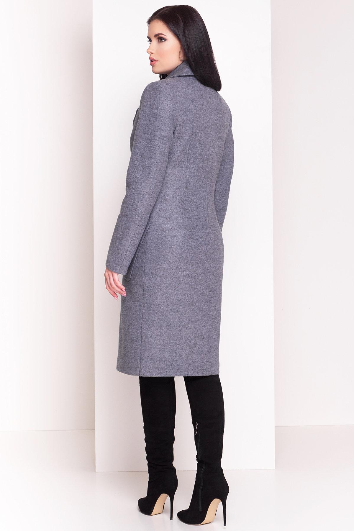 Пальто зима Габриэлла 4360 Цвет: Серый