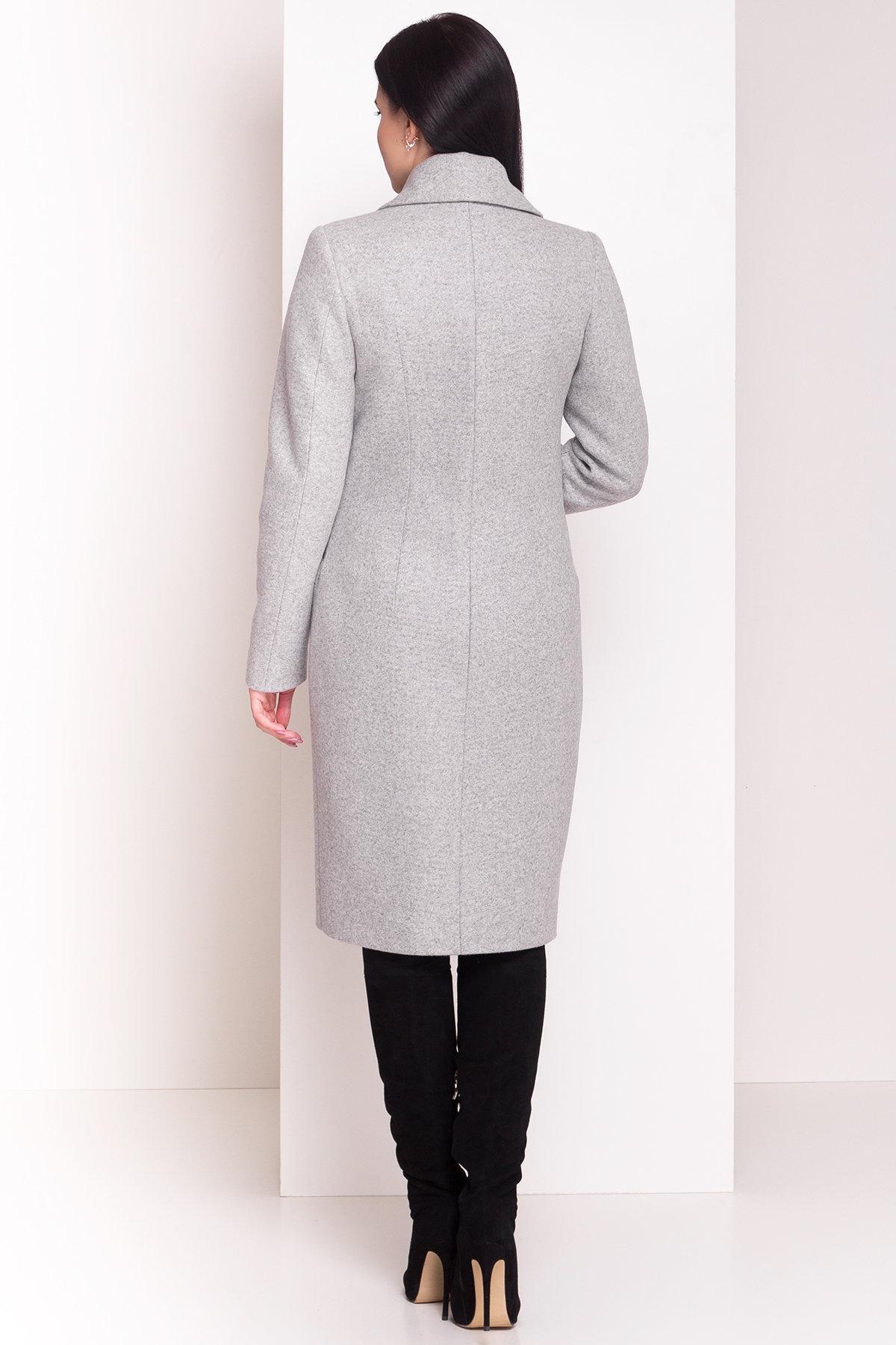 Пальто зима Габриэлла 4360 Цвет: Серый Светлый
