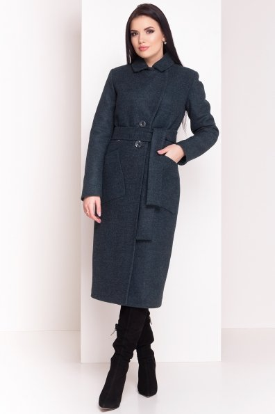 Пальто зима Габриэлла 4151 Цвет: Зеленый
