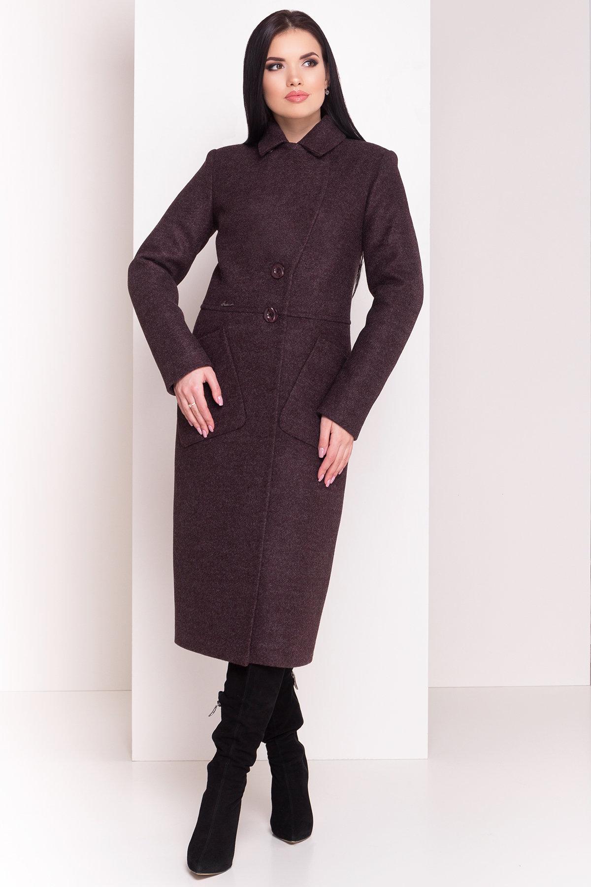 Пальто зима Габриэлла 4151 Цвет: Шоколад