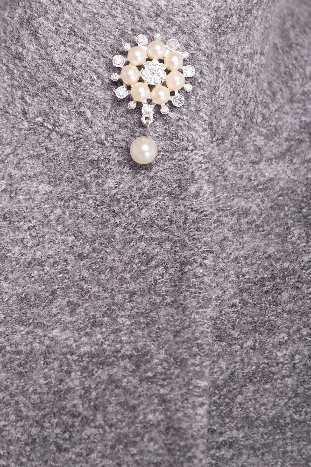 Пальто Мелини 4433 Цвет: Серый LW-10
