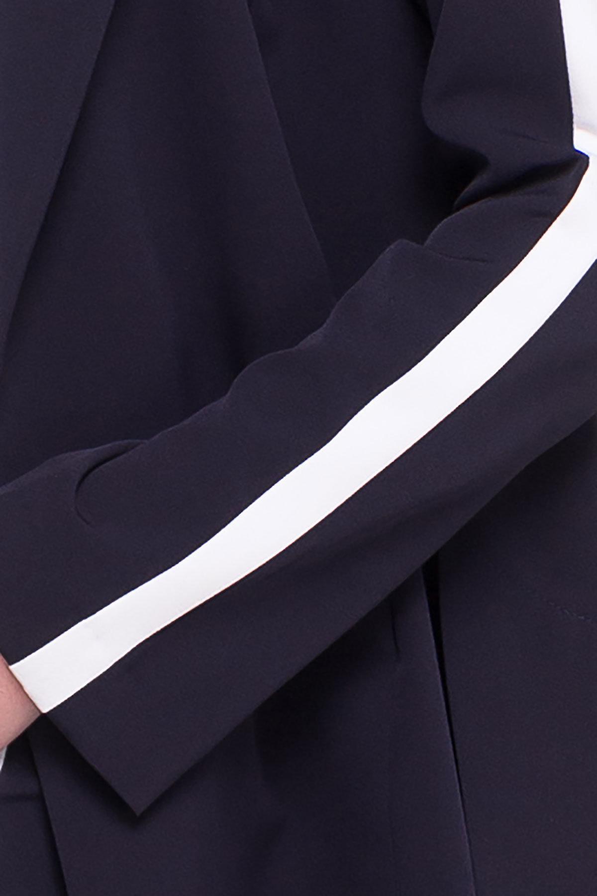 Жакет Макеба 3240 Цвет: Темно-синий/белый