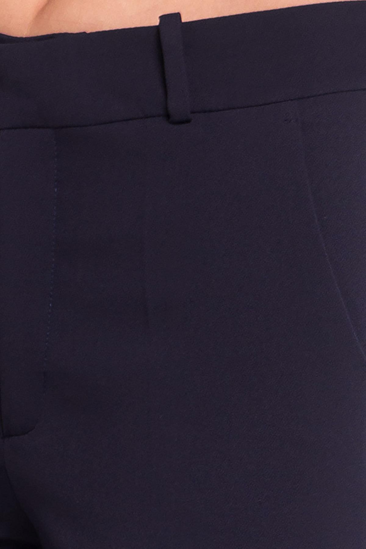 Брюки Макеба 3247 АРТ. 16724 Цвет: Темно-синий/белый - фото 4, интернет магазин tm-modus.ru