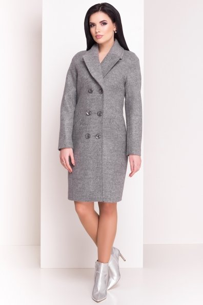 Пальто Джи Джи 4454 Цвет: Серый