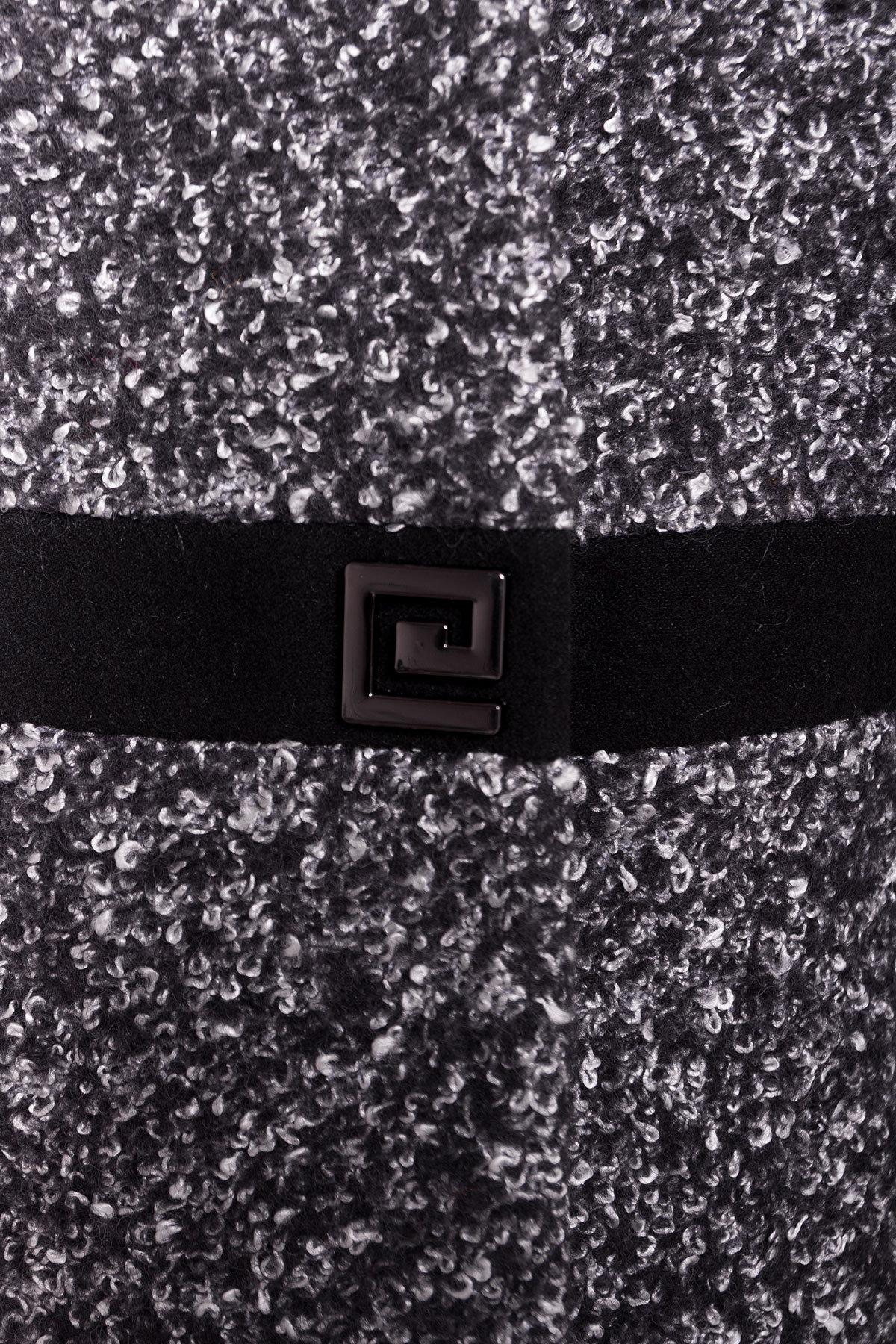 Пальто зима Стайл Цвет: Черный/черно-серый