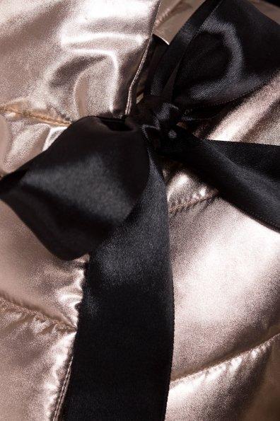 Куртка металлик Эллария 4589 Цвет: Золото