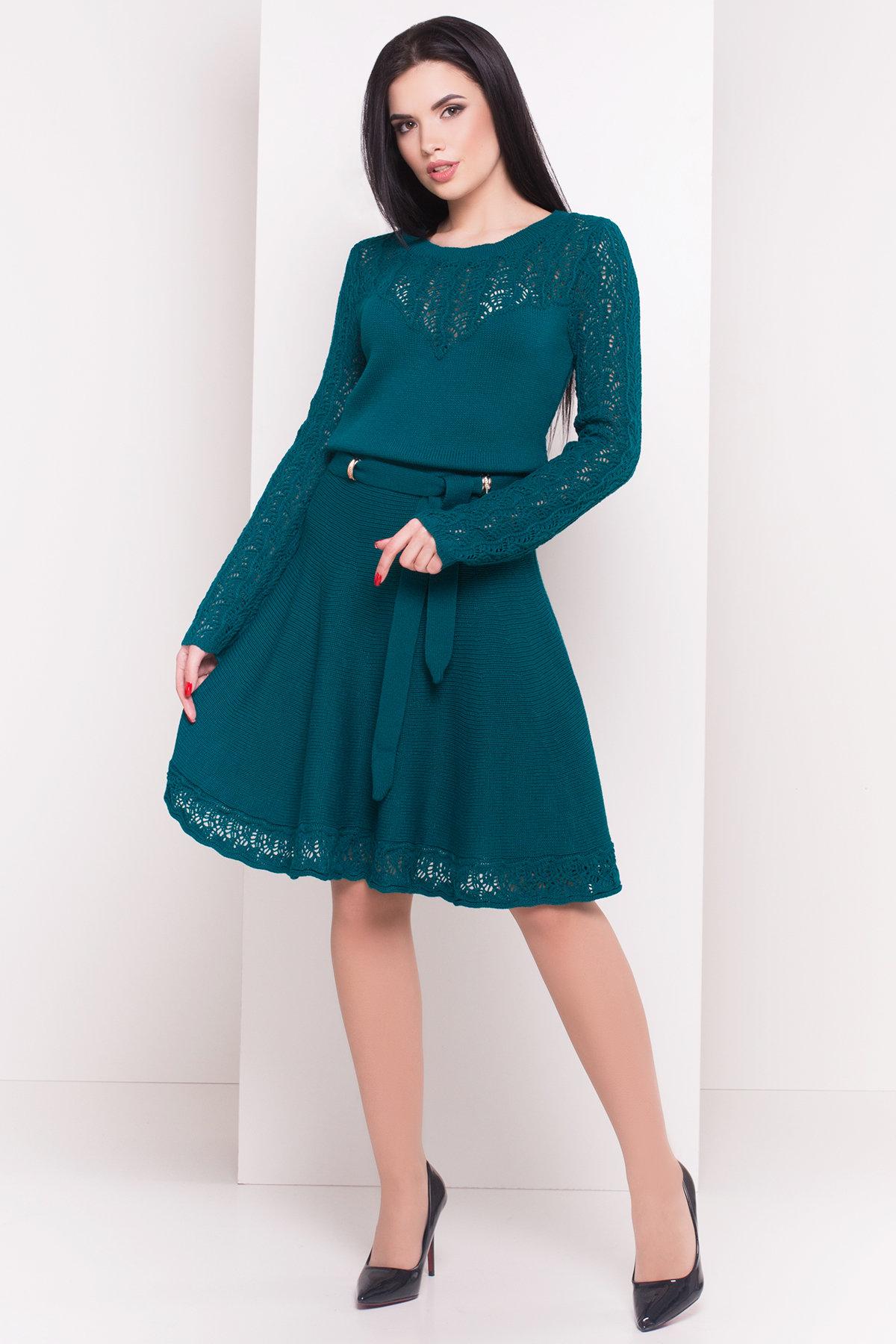 вязаные платья купить Платье Анжелика 4604