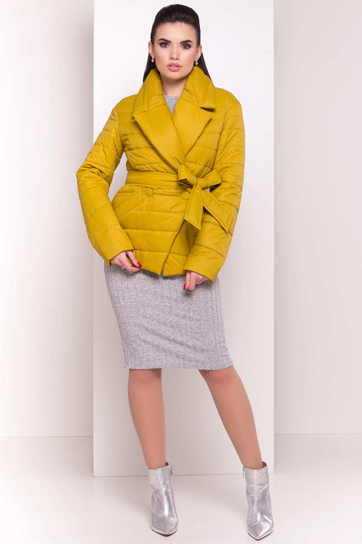 купить женские парки оптом Куртка однотонная Мириам 4564