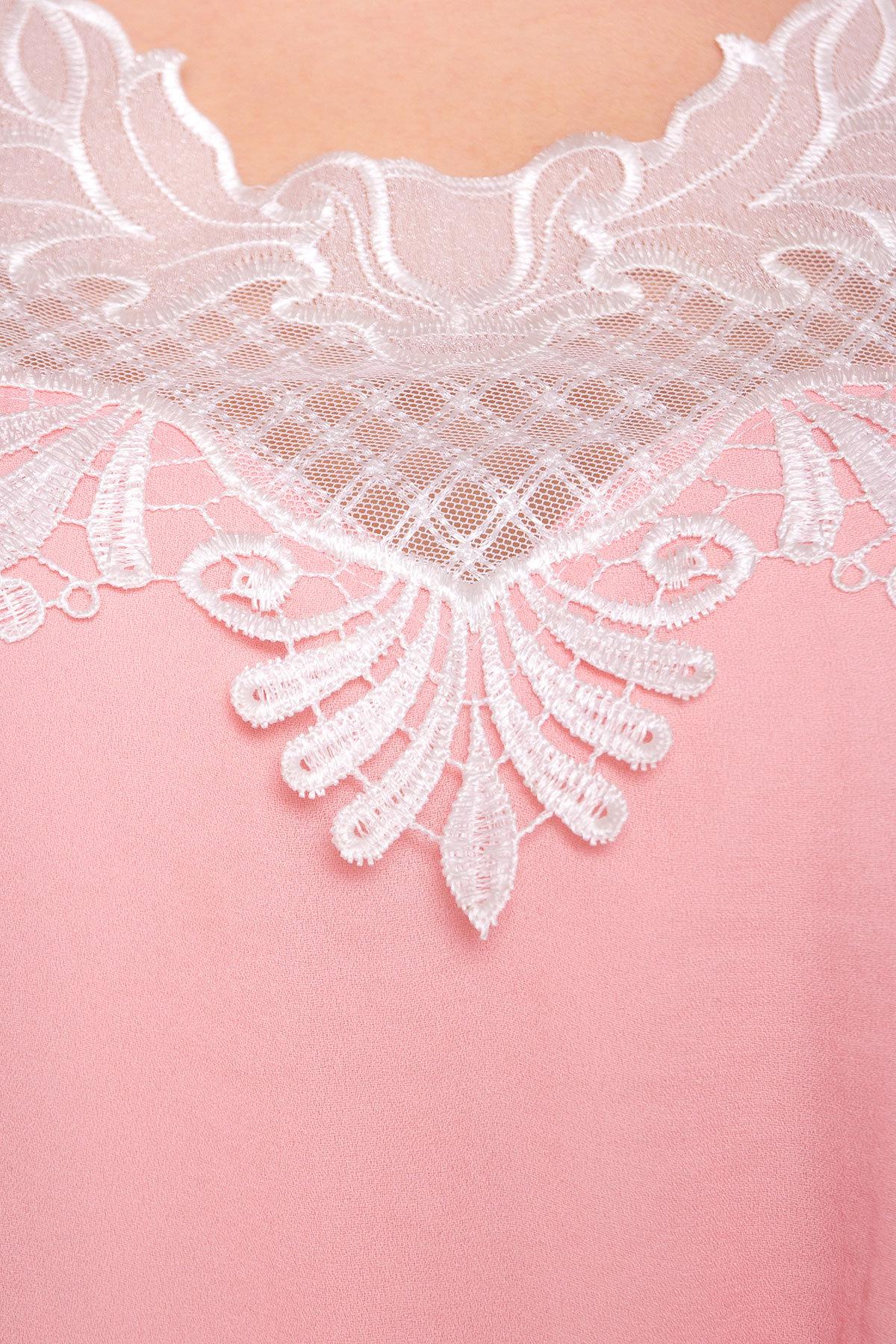 Платье Альбина 3110 АРТ. 33934 Цвет: Розовый Темный 1 - фото 4, интернет магазин tm-modus.ru