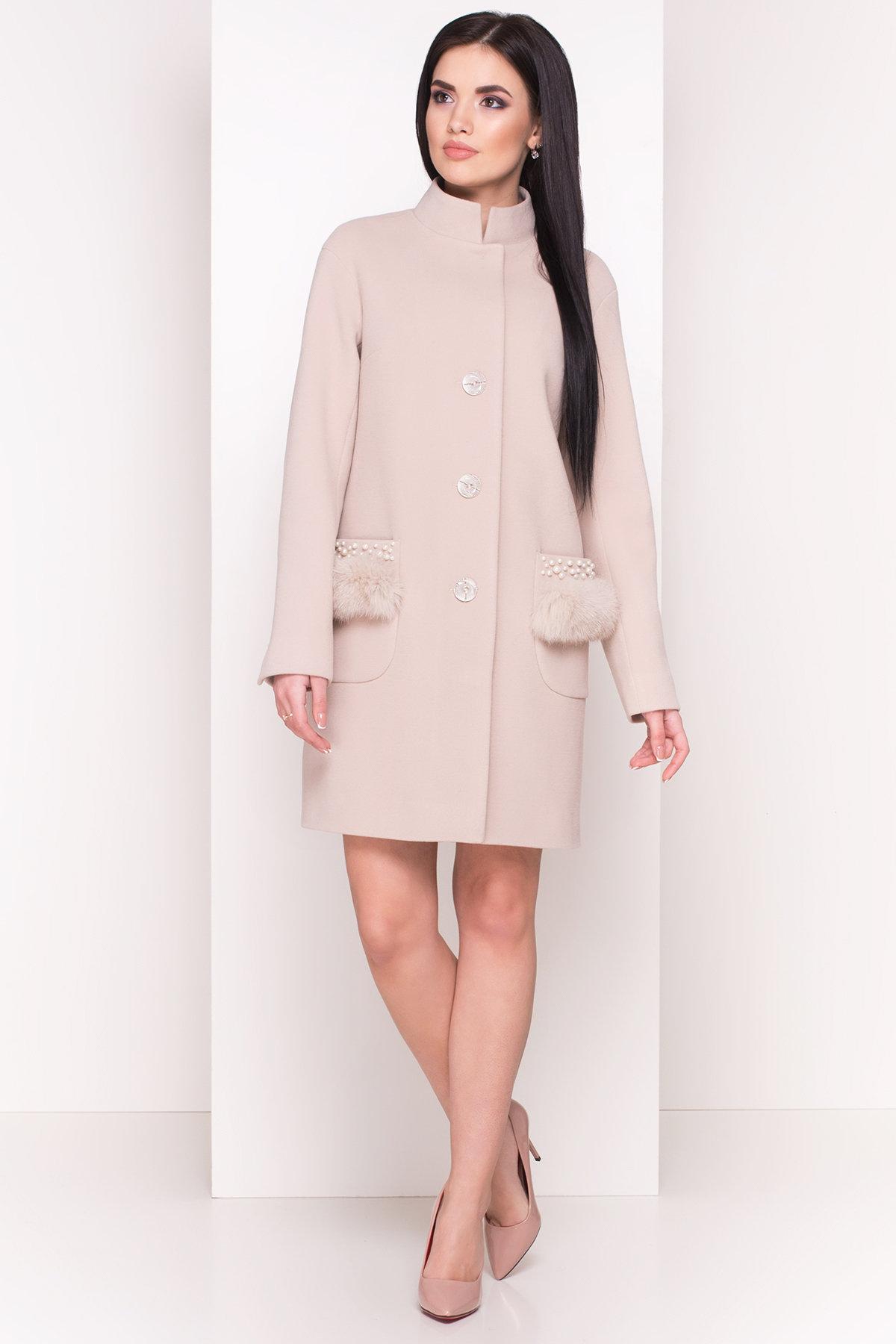 женские демисезонные пальто производитель харьков Пальто Этель 4494