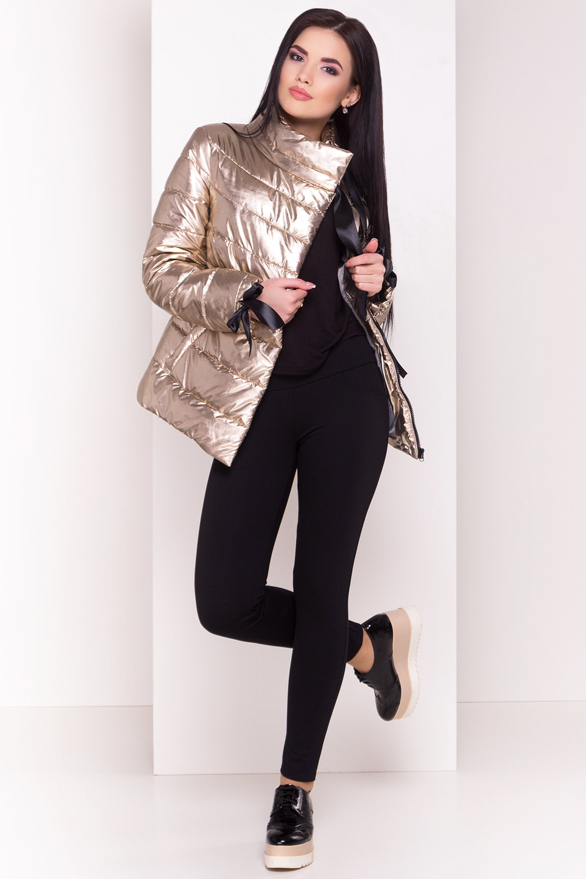 Куртка Эллария 4620 Цвет: Золото