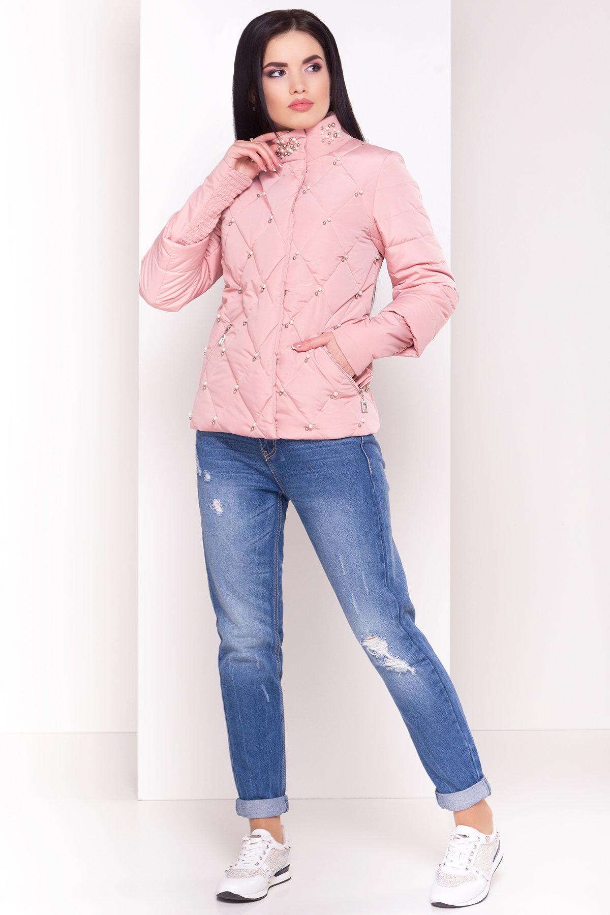 купить куртки женские Куртка с воротником стойка Мирцелла 4591