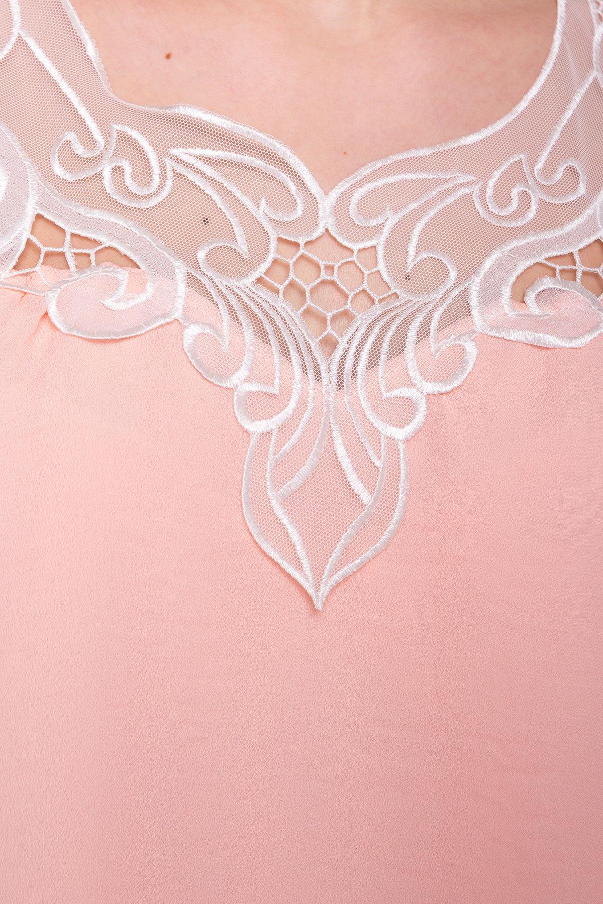 Платье Альбина 3110 АРТ. 16062 Цвет: Персик - фото 4, интернет магазин tm-modus.ru