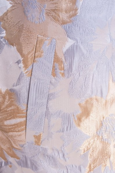 Плащ Бали 2254 Цвет: Серый/золото