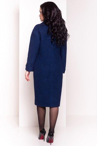 Пальто Джани 4676 Цвет: Темно-синий/электрик-LW27