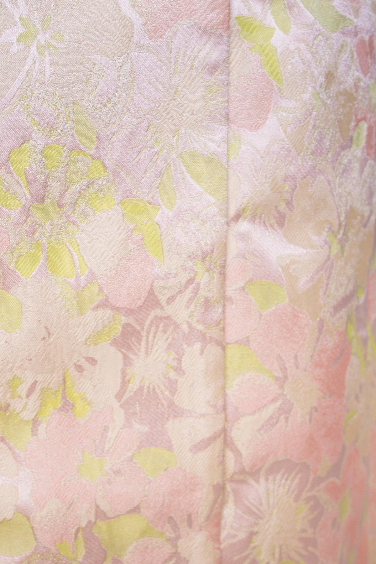 Плащ с отложным воротником Бали 2254 Цвет: Бежевый/лайм