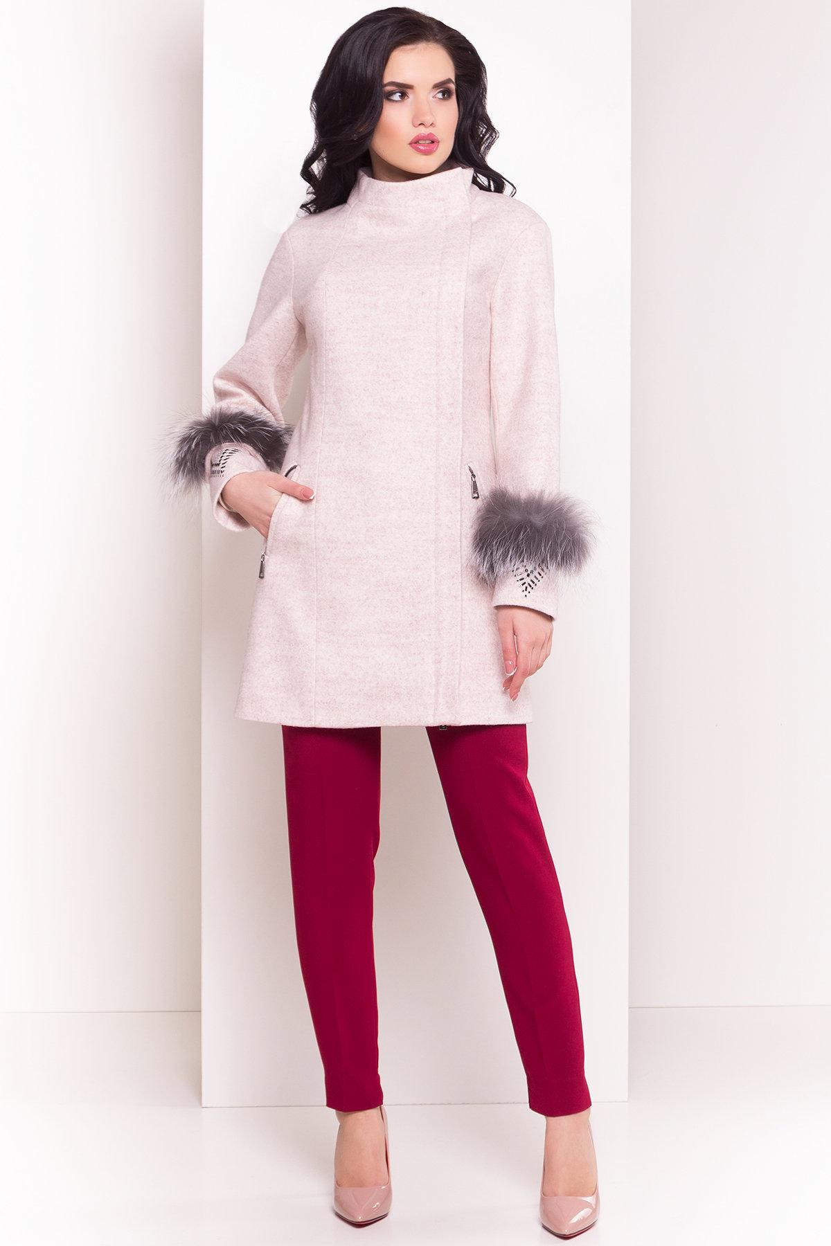 Пальто Лорин 4478 АРТ. 33847 Цвет: Бежевый - фото 3, интернет магазин tm-modus.ru