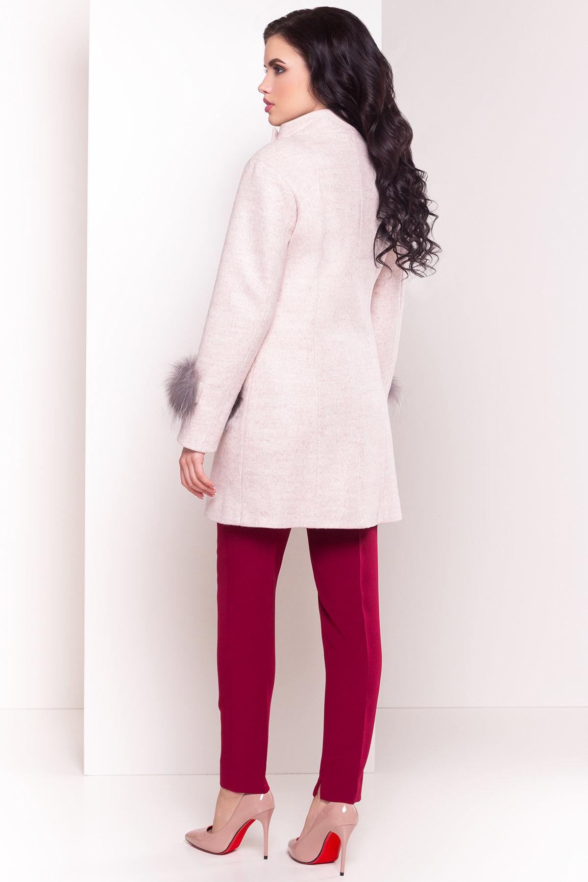 Пальто Лорин 4478 АРТ. 33847 Цвет: Бежевый - фото 4, интернет магазин tm-modus.ru