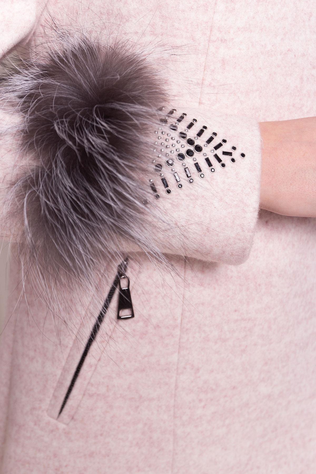 Пальто Лорин 4478 АРТ. 33847 Цвет: Бежевый - фото 5, интернет магазин tm-modus.ru