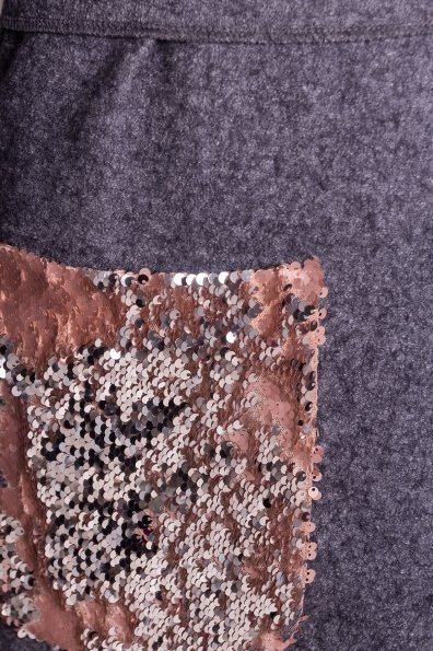 Кардиган с накладными карманами Нуар 4731 Цвет: Серый Темный LW-47