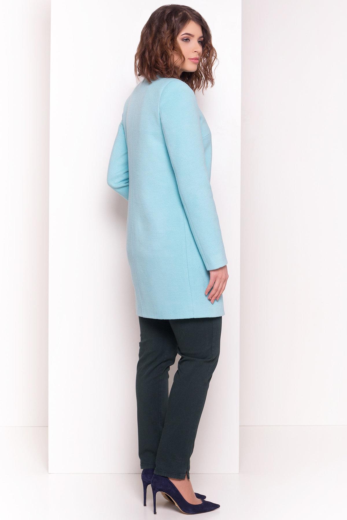 Пальто Фортуна 4812 АРТ. 34120 Цвет: Мята - фото 3, интернет магазин tm-modus.ru