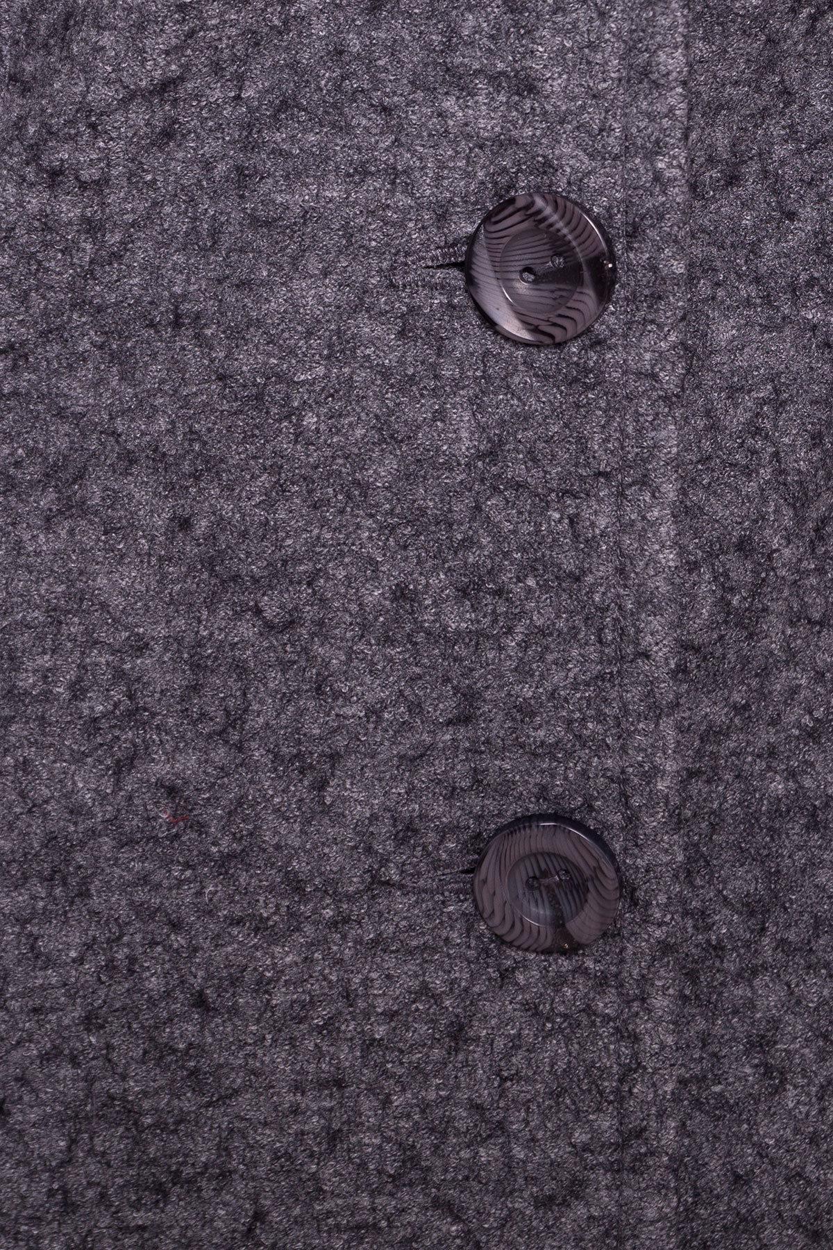Пальто Джани 4676 АРТ. 34074 Цвет: Серый Темный LW-5 - фото 5, интернет магазин tm-modus.ru