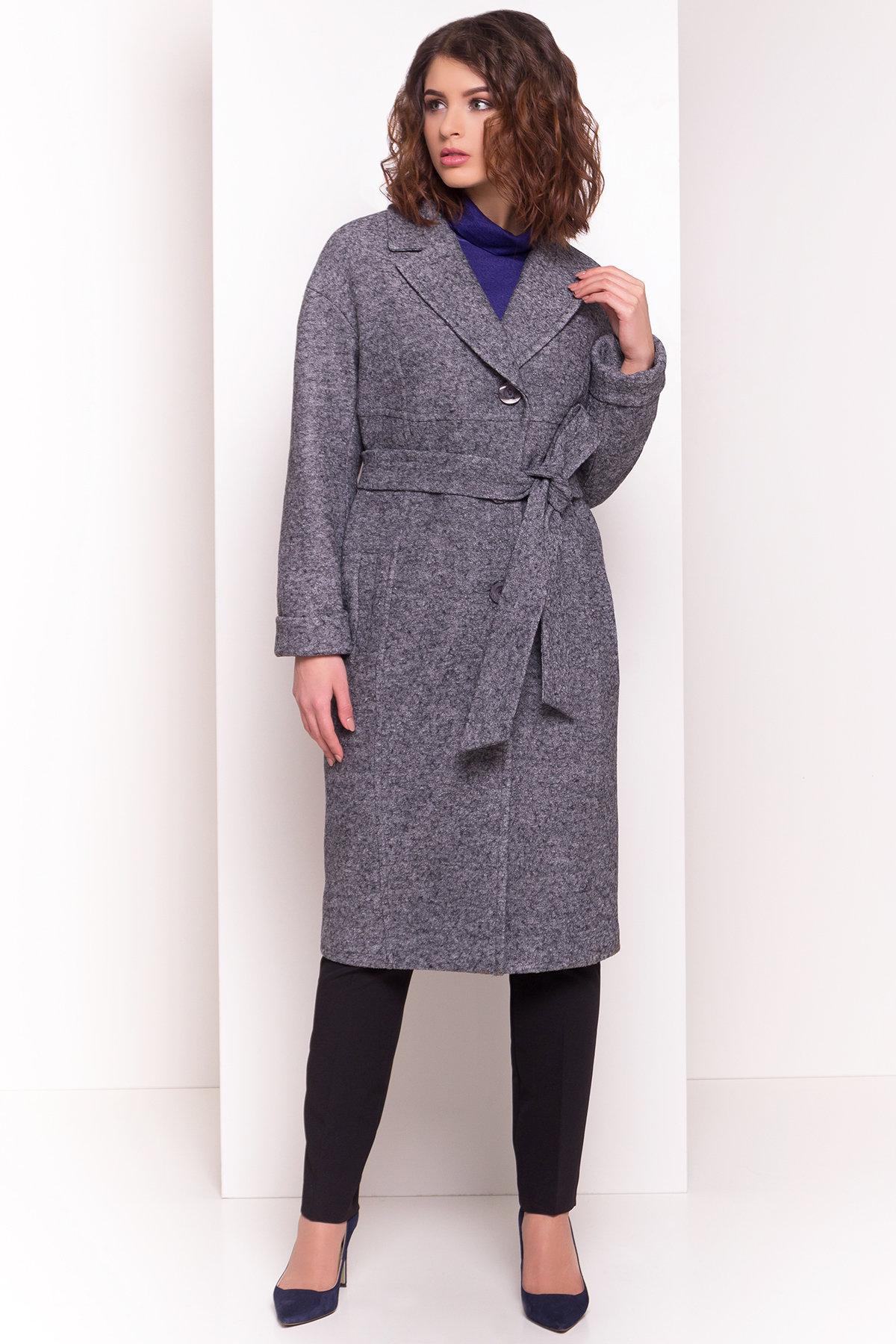 Пальто Джани 4676 АРТ. 34074 Цвет: Серый Темный LW-5 - фото 3, интернет магазин tm-modus.ru