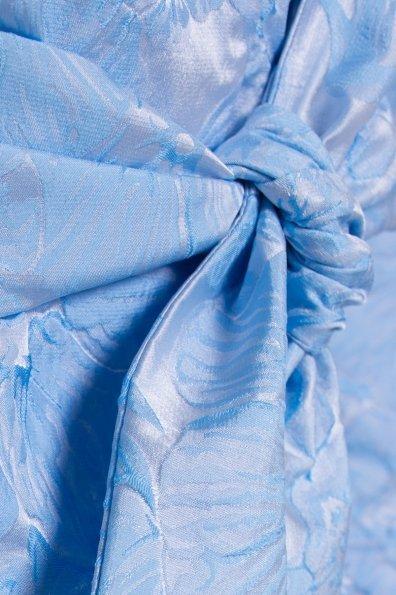 Плащ с отложным воротником Бали 2254 Цвет: Голубой
