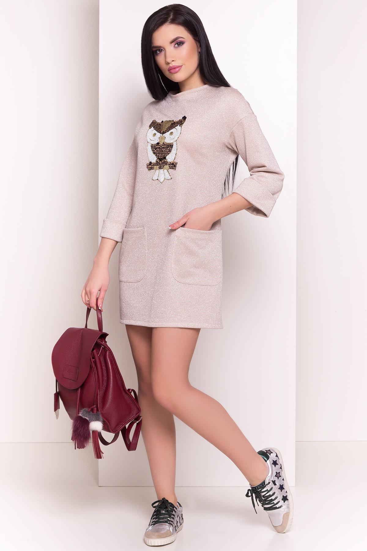 трикотажные платья оптом Платье Линэ 4778