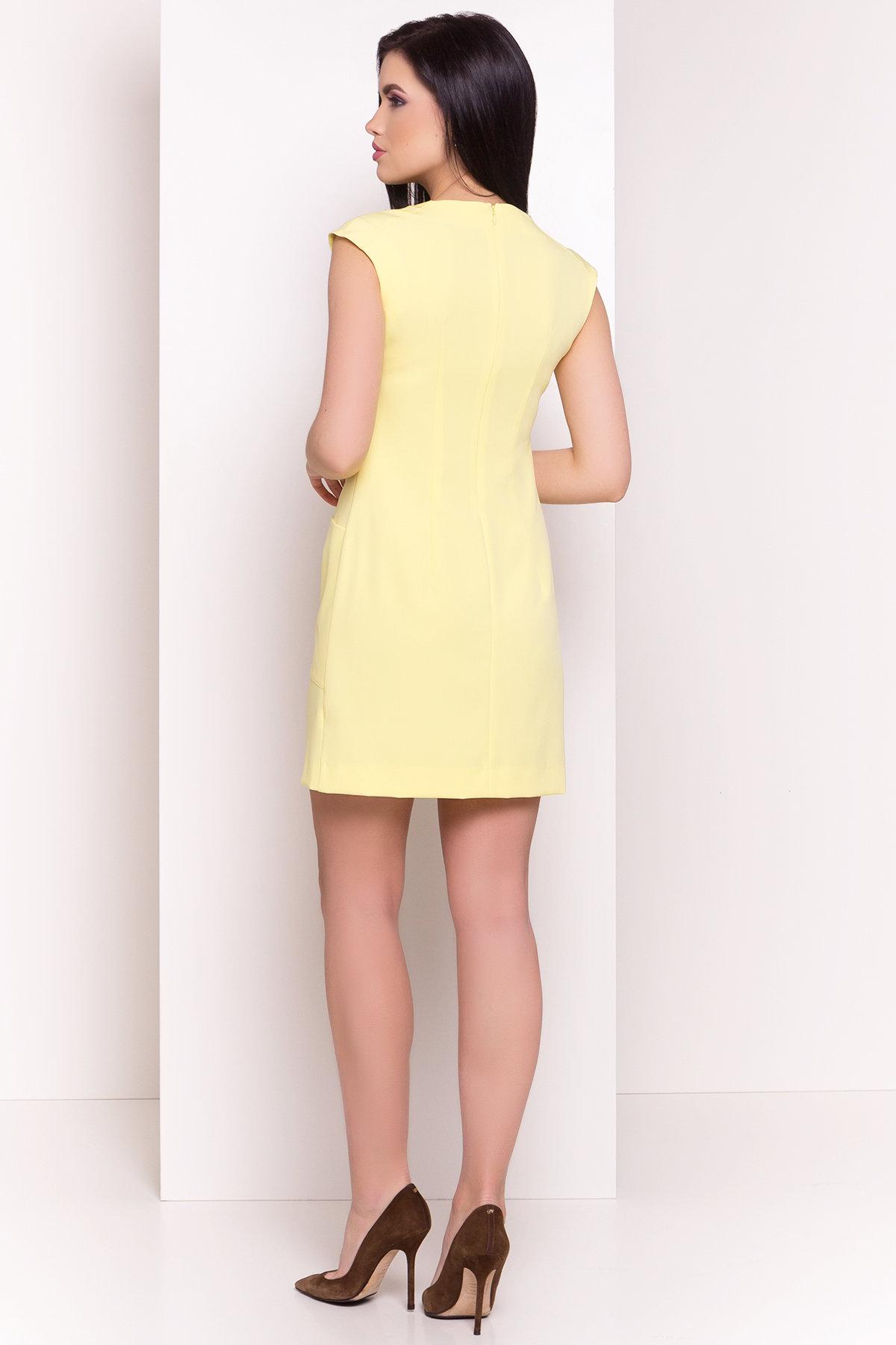 Платье Виларго лайт 270 Цвет: Желтый