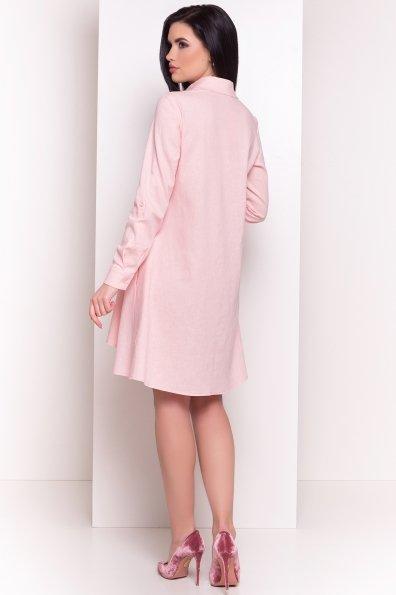 Платье -рубашка Бри 2706 Цвет: Пудра