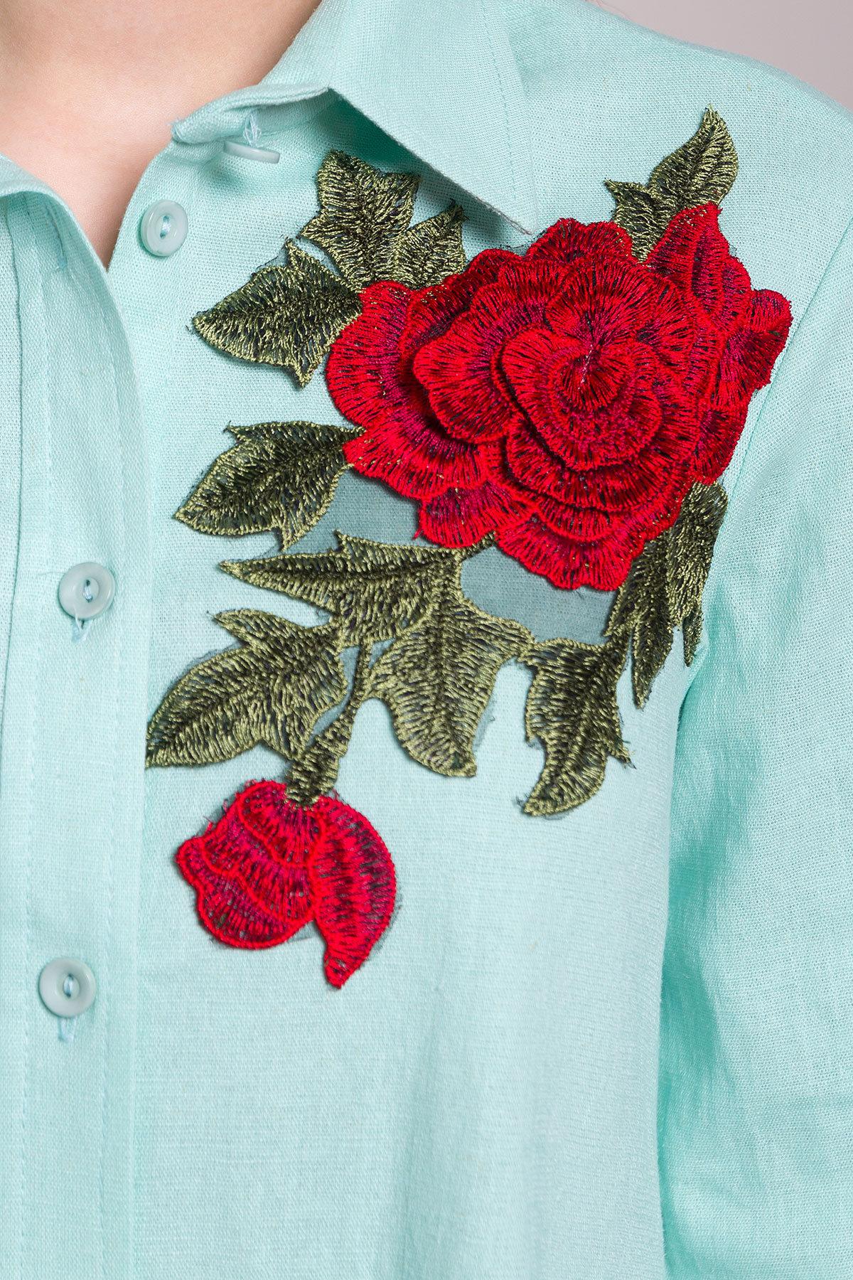 Платье Бри 2706 АРТ. 34088 Цвет: Мята - фото 5, интернет магазин tm-modus.ru
