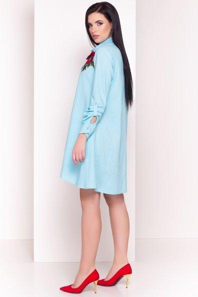 Платье Бри 2706 Цвет: Голубой